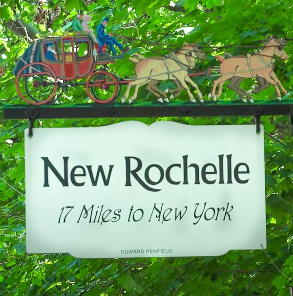 Welcome to New Rochelle Sign
